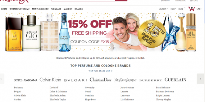Европейски сайтове за пазаруване на парфюми