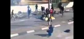 ВИДЕО: Вижте как палестинец протестира срещу израелската армия