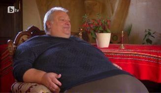 Запознайте се с най-щастливият 280-килограмов българин – яде по 1 прасе, закусва с тава баница, а кръвното му 120/80