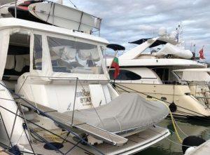 """Бургаски милионер с мега тузарска яхта събра погледите на баровската марина на """"Сани резорт"""" - Гърция"""