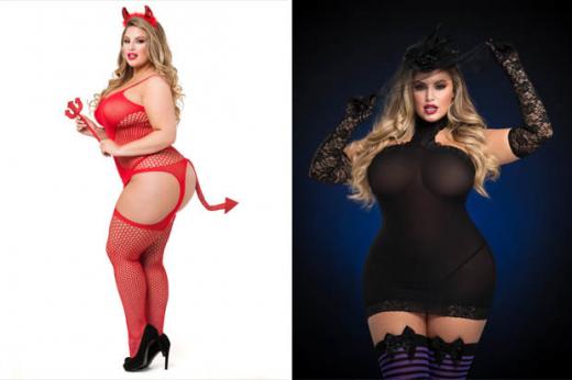 Много секси СНИМКИ на плюс-сайз моделката, която детронира отслабналата Ашли Греъм (СНИМКИ/ВИДЕО)